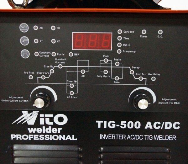 Инверторен Електрожен 500 АМПЕРА