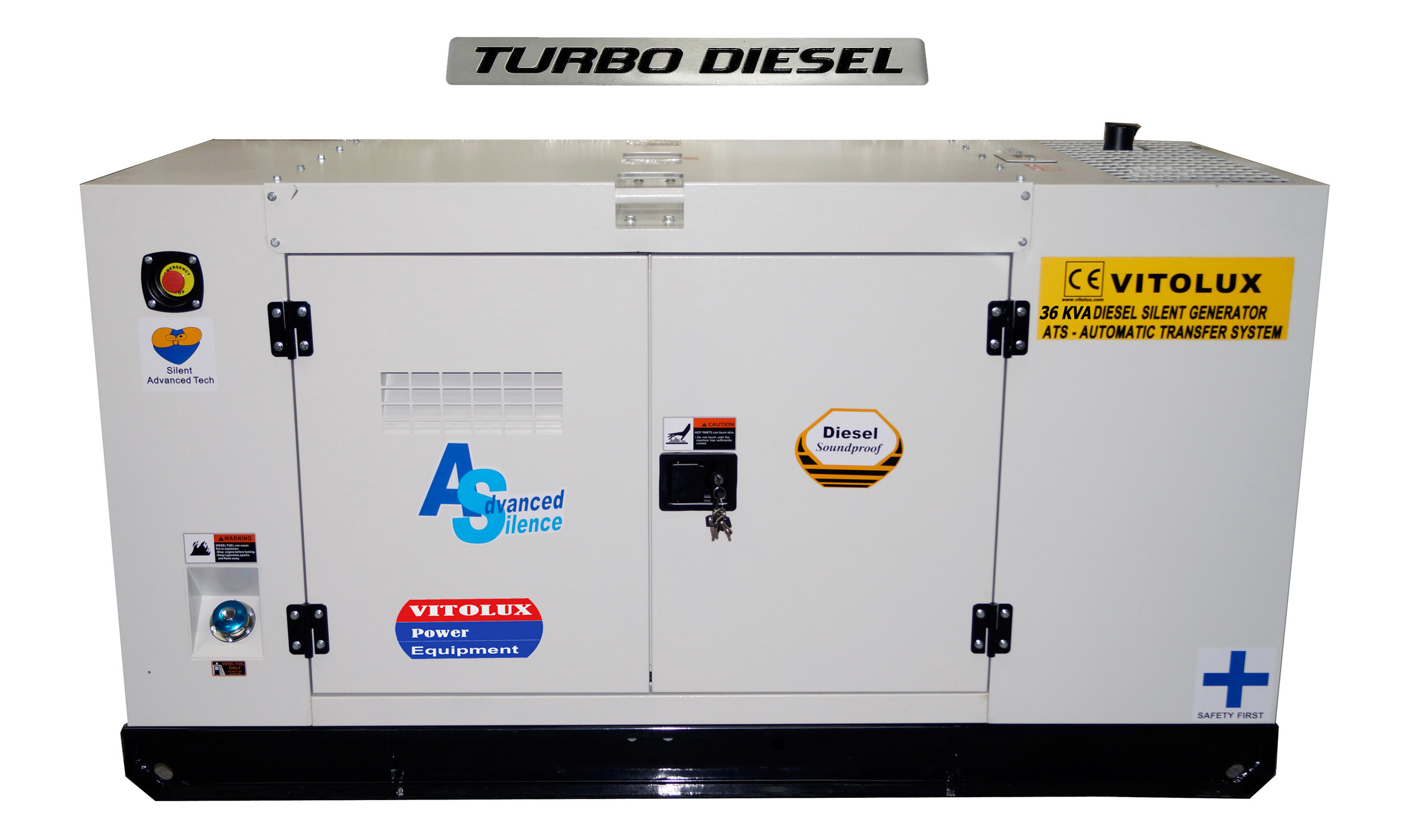 36 kva промишлени генератори